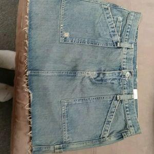 Lucky brand jean skirt size 10/30